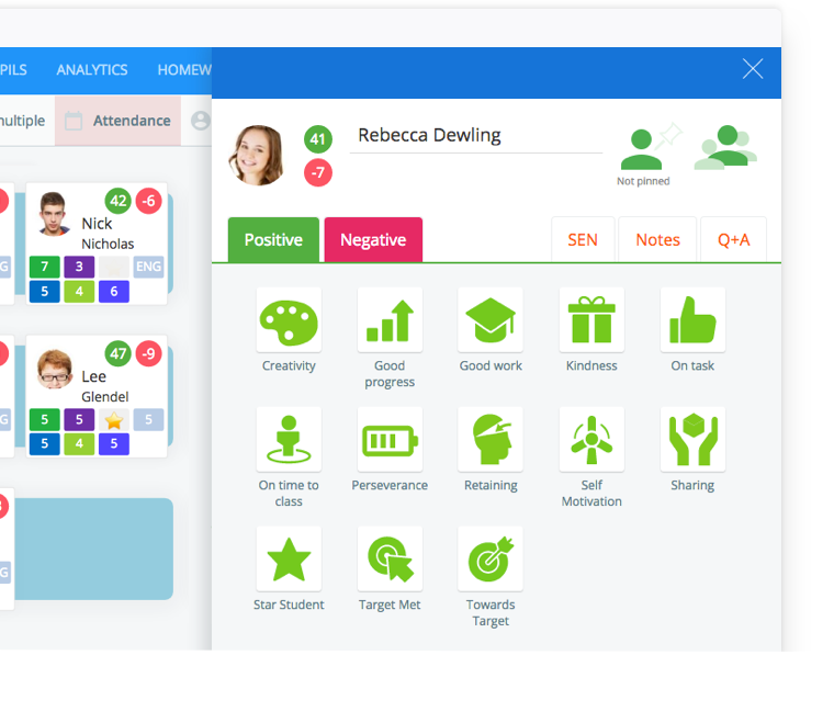 Instant seating plans & easy to use behaviour management, Class Charts