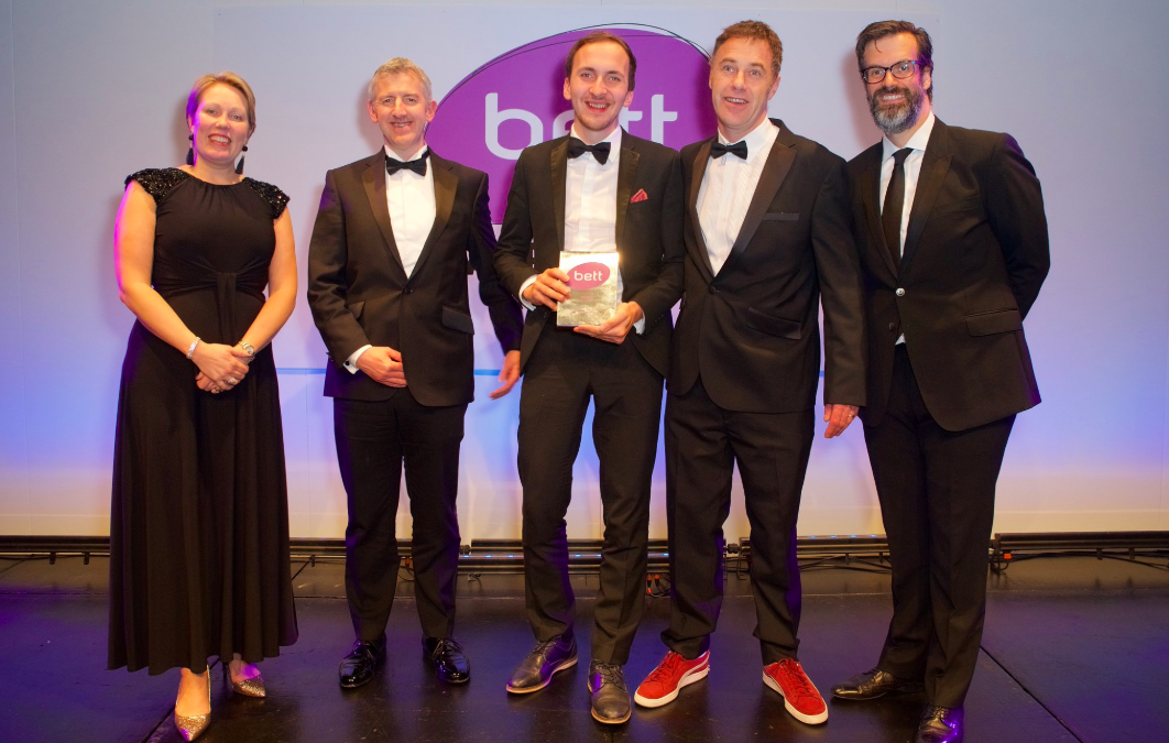 Edukey are 2019 BETT Company of the Year Winners!
